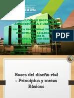 Bases Del Diseño Vial.principios y Metas Basicas