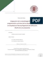 1E.- Oliver - Integración de La Metodología BIM en La Programación Curricular de Los Estudios de Grado...
