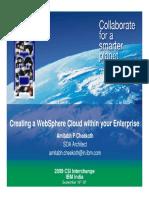 E21 Websphere Cloud Environment Amitabh Cheekoth