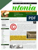 Derechos de Autor - LRM Performance - Publicado en ANTONIA MAGAZINE