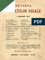 [1934-01] Revista Fundatiilor Regale