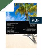 Tamarin Mauritius Quote