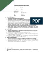 Contoh RPP Pembelajaran Berbasis Proyek