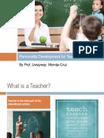 teacher personality development