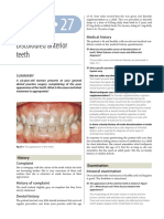 27-Discoloured Anterior Teeth