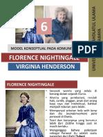 Model Konseptual Florence Nightingale Dan Virginia Henderson Pada Keperawatan Komunitas
