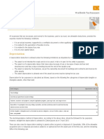 Saudi Arabia - Corporate Deductions