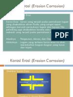 Korosi Erosi (Erosion Corrosion)