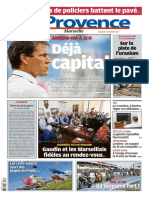 La Provence Marseille Du Dimanche 17 Septembre 2017