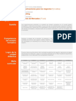 Sílabo Comunicación para los Negocios 1 - IPAE