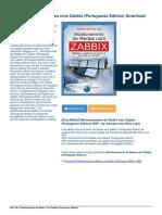 Monitoramento Redes Com Zabbix Portuguese eBook PDF 02c948e99