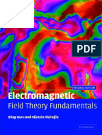 Electromagnetic Field Theory Fundamentals 2nd Edition by Bhag Singh Guru and Huseyin R Hiziroglu (1) Part1