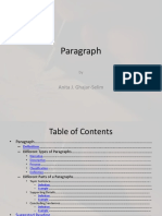 Writing Resources PDF Paragraph File