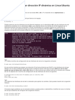Configurar Ethernet en Ubuntu