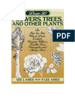 Draw 50 net Trees, Plants
