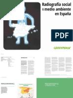 Radiografia Social Del Medio Ambiente en Espana2017