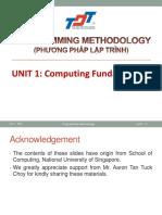 01 Computing Fundamentals