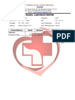 Hasil Laboratorium September 2017 RSSM