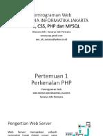 Pw Metik Php&Mysql