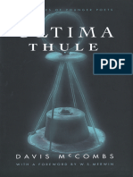 (Yale Series of Younger Poets 94) Davis McCombs & W. S. MERWIN-Ultima Thule-Yale University Press (2000)