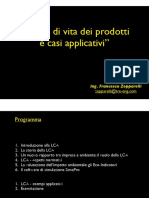 Presentazione Life Cycle Assessment