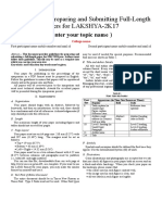 tmplate for paper(PPT).doc