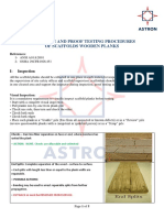 Scaffold Planks Inspection Procedures