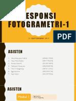 Responsi Fotogrametri 1