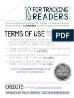 Forms for Tracking Readers