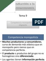 Competencia Monopolística y Oligopolios