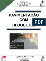 Pavimentação Com Bloquetes
