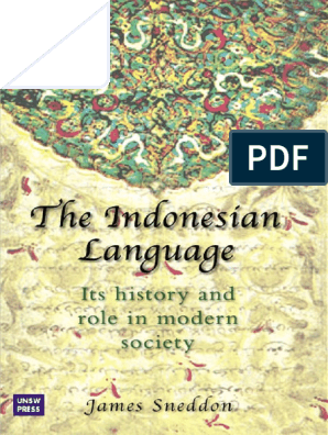 James N Sneddon The Indonesian Language Its History And