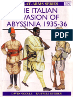 Osprey - Men at Arms 309 - Italian Invasion of Abyssina 1935-36