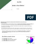 Eixo Elétrico Do QRS, Formas de Calcular