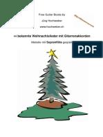 Christmas Weihnachten Flute Flöte Recorder chords guitar