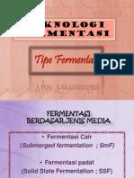 2 Tipe Fermentasi
