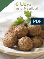 50 Ways to Make a Meatball - Julie Hatfield
