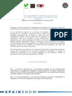 Reglamento de Emisión de Licencias RFEDI