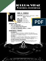 CV Español - Axel a. Giaroli