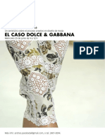 Dolce Gabanna Workshop