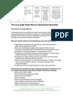 Job Description - Low Angle