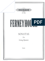 Ferneyhough - Sonatas for String Quartet