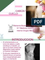 Tumores de Cabeza y Cuello