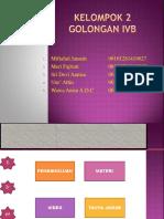 GOLONGAN IVB