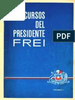 Discursos del presidente Frei