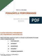 Pokazatelji performanse