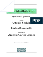 Libreto Il Guarany