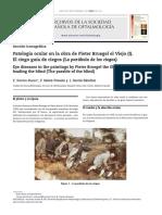 BUESO; SÁENZ-FRANCÉS; GARCÍA-SÁNCHEZ. Patología ocular en la obra de Pieter Bruegel el Viejo (I) - El ciego guía de ciegos (La parábola de los ciegos).pdf