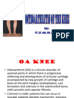 Osteoarthritis of the Knee HK