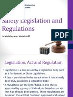 CEV654-Lecture 2b_Safety Legislation Regulation